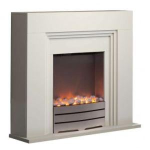 Ivory Electric Fireplace From China Manufacturer Ljsf4009me