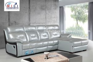 L Shape Recliner Leather Sofa