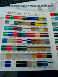 ABS Double Color Sheet for Laser pictures & photos