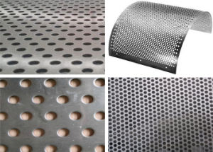 Square/ Round Holes Perforated Metal Mesh pictures & photos