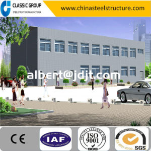 Low Cost Easy Build Multi-Floor Steel Structure Office Building Design pictures & photos
