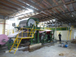 Toilet Paper Making Machine, Cylinder Mould Paper Machine pictures & photos