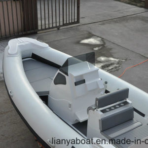 Liya 7.5m Fast Speed Boats Luxury Rib Boat with Motor pictures & photos