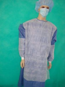 Reinforced Surgical Doctor Gown with CE & ISO pictures & photos