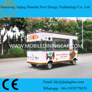 Beautiful Outlook Four Wheels Food Cart with Ce /SGS Certificates pictures & photos