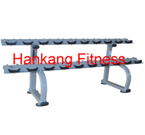 Signature Line, Protraining Equipment, Gym Machine-Two Tier Dumbbell Rack (PT-952) pictures & photos