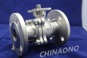 Floating Stainless Steel Ball Valve with Flange pictures & photos