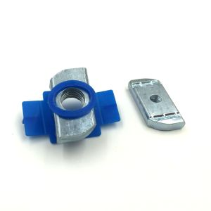 C-Profile Photovoltaic Slot Carbon Steel Strut Nut with Plastic Holder pictures & photos