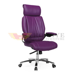 First Quality High Back Metal Leg Adjustable Office Chair (HY-380A) pictures & photos