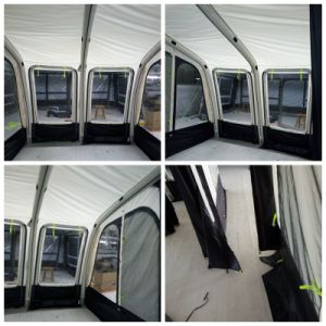 Outdoor Camping Europe Standard Caravan Awning Tent pictures & photos