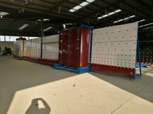 Insulating Glass Machine/Automatic Outer Press Insulation Glass Line pictures & photos