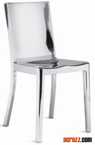 Restaurant Dining Patio Furniture Steel Metal Hudson Navy Chair pictures & photos