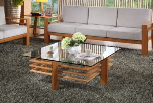 Fashion Design Square Bamboo Coffee Table pictures & photos