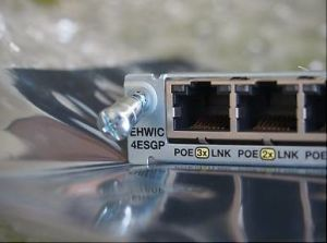 China Cisco EHWIC-4ESG-P for 1921 1941 2901 2911 2921 2921