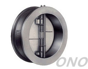 Double Disc Forged Wafer Check Valve pictures & photos