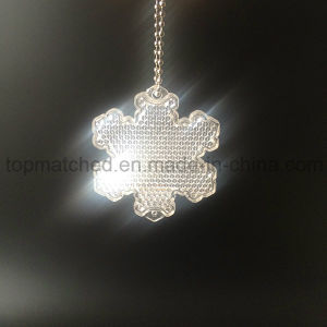 En1335 Snowflake Hard Reflector for Children Safety pictures & photos