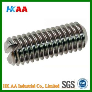 Metric Coarse Slotted Grub (Set) Screw Flat Point Grade-14.9-45h DIN551 pictures & photos