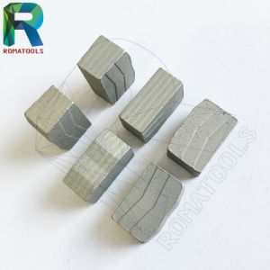 40X3.0X10mm Diamond Segments for Stone Granite Marble Cutting