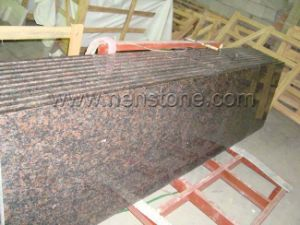 China Prefab Tan Brown Granite Kitchen Countertops China Granite