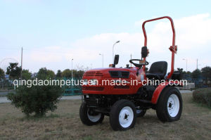 Small Garden Tractor 16HP 4WD with Turf Tires pictures & photos