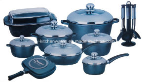 26-Piece Die-Cast Aluminum Cookware Set (ZY-ST26-2)