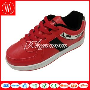 Leisures Style Lace-up Kids Skate Shoes