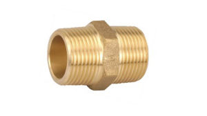 Brass Fitting, Pipe Fitting, Nipple, Male Nipple (T-102)