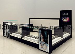 Metal and Wooden Jewelry Display Counter Showcases for Jewelry Store pictures & photos