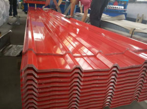 Prepainted Corrugated Steel Sheet for Roofing Sheet pictures & photos