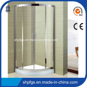 Tempered Glass Simple Shower Door