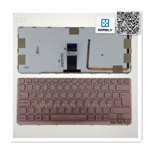 Brand New and Us Laptop Notebook Keyboard for Sony Sve14AA12t Sve14A18ec Ve14A16ec