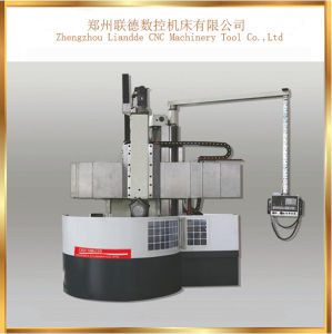 Low Price Promotional CNC Vertical Lathe Machine with Ce pictures & photos