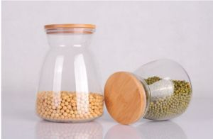 Light Weight Glass Jar Tea Rice Bean Bottle pictures & photos