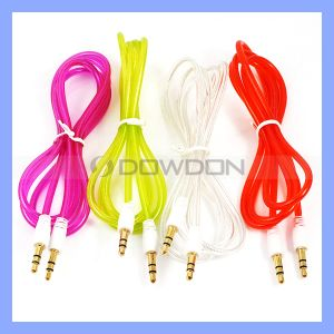 Color 3.5mm Cable Aux Audio Cable for iPhone Ipods MP3 pictures & photos