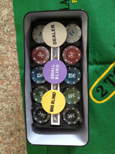 Poker & Chips Game (BF1033)