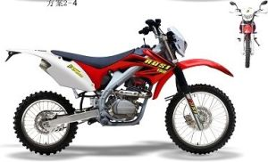Motorcycle New Crf250 Enduro Sport