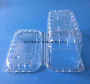 Diaposable Food Grade Plastic Fruit Packaging Container for Grape FDA Provide