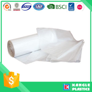 HDPE LDPE Large White Garbage Bag on Roll pictures & photos