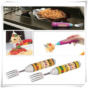 Battery Powered Kids Used Twirling Spaghetti Fork for Pasta (VK14002-S)