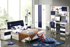 China Simple Style Children Bedroom Sets 553 - China Bedroom ...