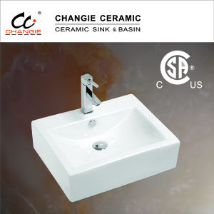 Ceramic Basin, Bathroom Cabinet Sink, Vessel Basin (6026) pictures & photos