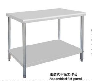 China Kitchen Equipment Stainless Steel Work Table China Worktable - Restaurant equipment stainless steel table