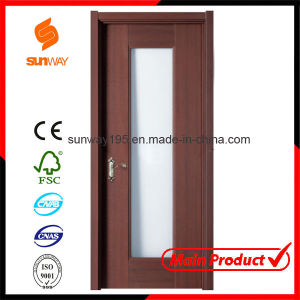 Hot Sale High Quality PVC Wooden Door Sw-001 pictures & photos