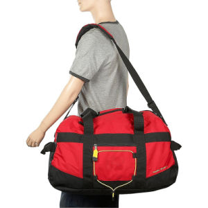 Unisex 600d Polyester Red Sport Outdoor Duffel Luggage Travelling Bag pictures & photos