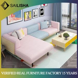 China Modern Corner Sofa Living Room Furniture Fabric Sofa Three ...