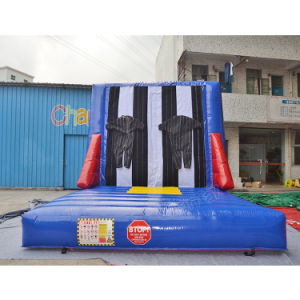 Outdoor Fun & Sports Toys & Hobbies Fashion Style Inflatable Wall Sticky Wall Including 2 Suits Jumping Sport Games Toys Customized Inflatable Stick Wall Kids And Adult
