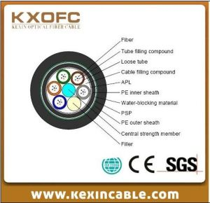 Optic Fiber Cable GYTA53 for Communication