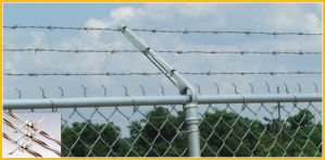 Galvanized Barbed Wire Fence(Various Colors0