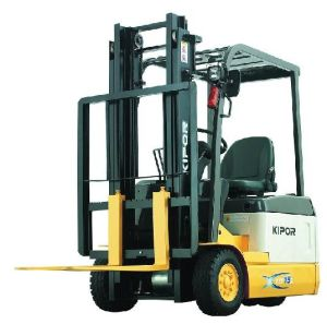 Three Wheel Battery Forklift (KEF10E) pictures & photos