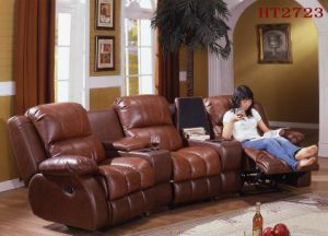 China Home Theatre Sofa Electric Action Available Ht2723 Recliner